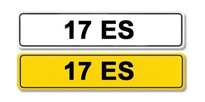 Lot 13 - Registration Number 17 ES