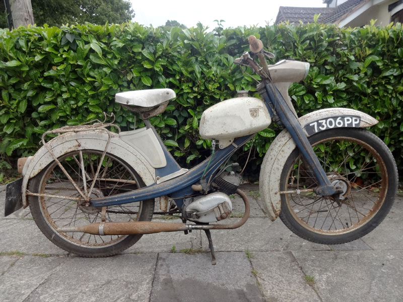 Lot 34-1963 NSU Quickly S23