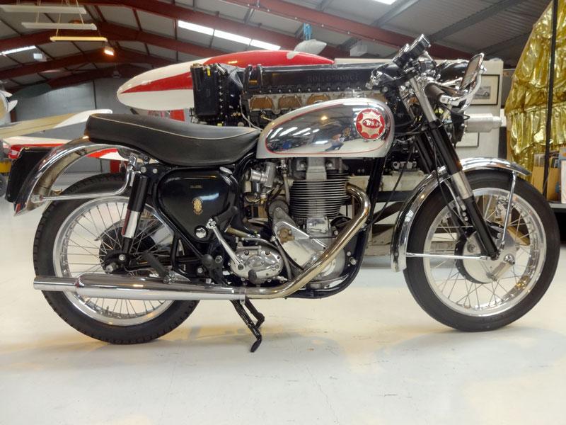 Lot 10-1954 BSA DB32 Gold Star