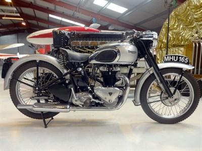 Lot 56-1949 Triumph T100 Tiger