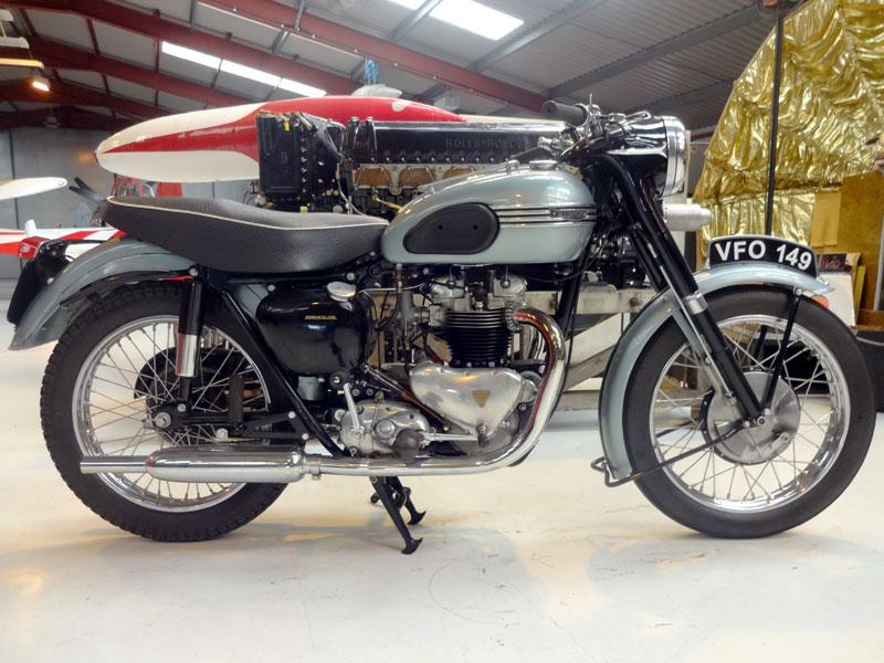 Lot 35-1956 Triumph T110 Tiger