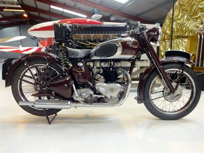 Lot 15-1948 Triumph 5T Speed Twin