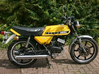 Lot 33-1980 Yamaha RD125