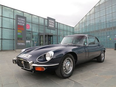 Lot 40-1971 Jaguar E-Type V12 Coupe