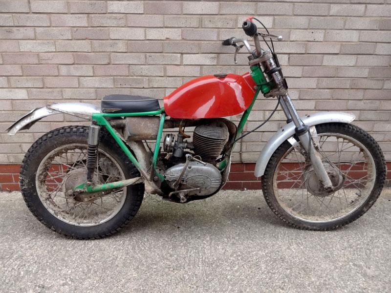 Lot 47-1967 Cotton 250cc Trials