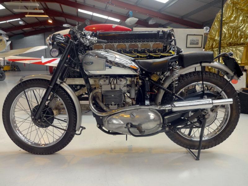 Lot 91-1952 Triumph TR5 Trophy