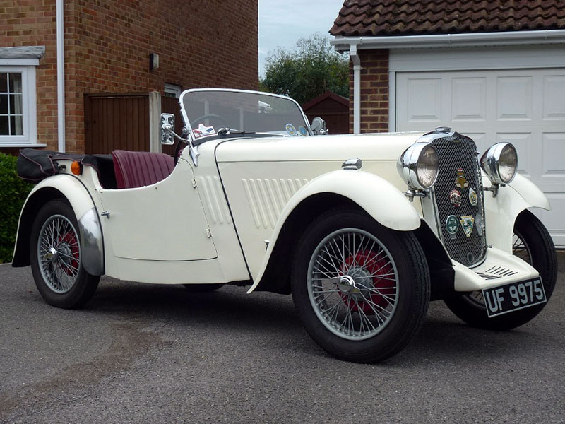 Lot 31-1933 Singer Nine Sports Four-Seater