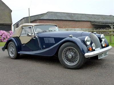 Lot 8-1984 Morgan 4/4 1600