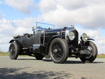 Lot 141-1928 Bentley 3/4.5 Litre Vanden Plas Style 'Le Mans' Tourer