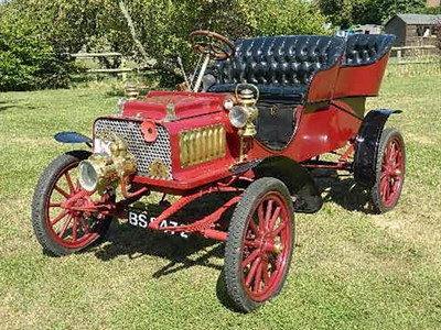 Lot 126-1904 Rambler Model H Tonneau