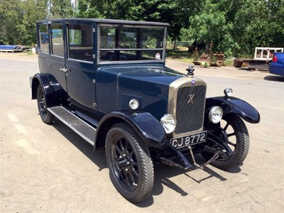 Lot 18-1926 Hillman 14hp Saloon