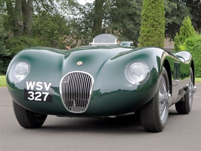 Lot 140-1964 Jaguar C-Type FIA / HTP Evocation