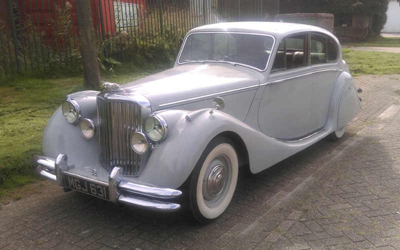 Lot 61-1950 Jaguar MK V 3.5 Litre Saloon
