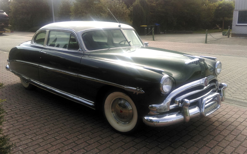 Lot 63-1953 Hudson Hornet 'Twin H-Power' Club Coupe