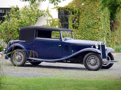 Lot 138-1932 Lancia Astura V8 Drophead Coupe