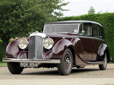 Lot 41-1939 Lagonda V12 Sedanca de Ville