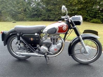 Lot 83-1957 Matchless G3L