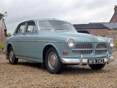 Lot 57-1962 Volvo 122 S