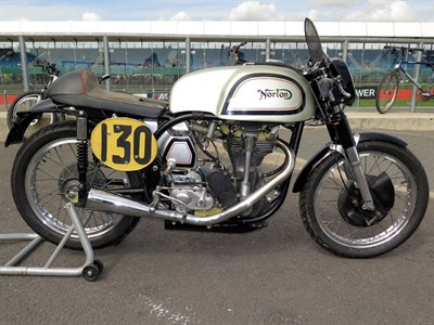 Lot 27-1954 Norton Manx 30M
