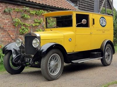 Lot 131 - 1927 Delage DIC Van