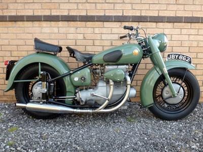 Lot 16-1950 Sunbeam S7 Deluxe