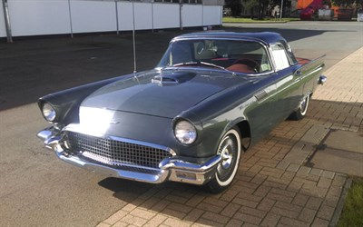 Lot 62-1957 Ford Thunderbird