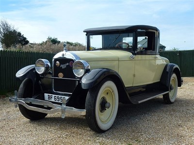 Lot 46-1927 Hupmobile Series E Coupe