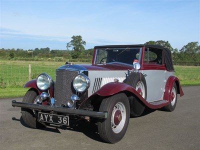 Lot 136-1934 Railton Drophead Coupe