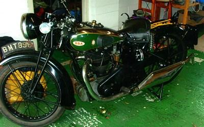 Lot 79-1934 BSA W35-7
