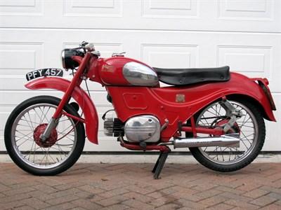 Lot 65-1958 Moto Guzzi Zigolo
