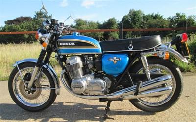 Lot 69-1977 Honda CB750 K6