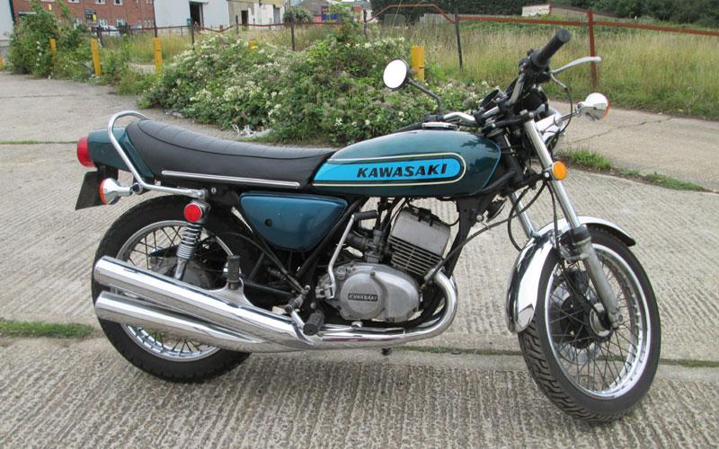Lot 49-1974 Kawasaki KH400 S3