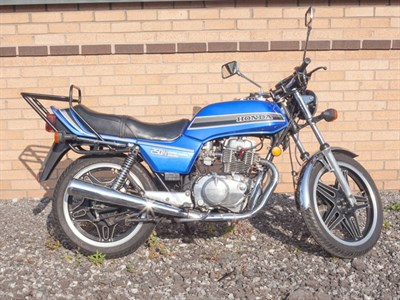 Lot 44-1981 Honda CB250N Super Dream