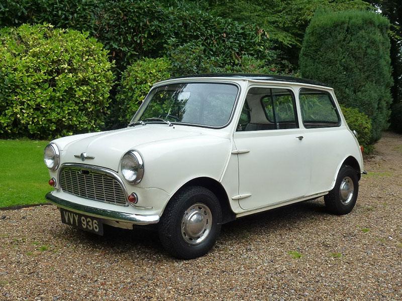 Lot 2-1960 Morris Mini 850