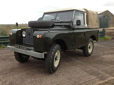 Lot 4-1964 Land Rover 88 Series IIA