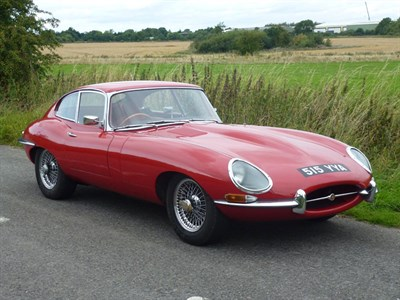 Lot 19-1964 Jaguar E-Type 3.8 Coupe