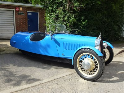 Lot 82-1938 Morgan F-Type Super Sports