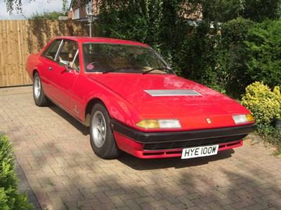 Lot 6-1981 Ferrari 400i