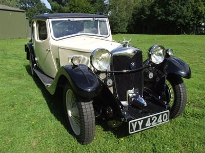 Lot 12 - 1933 Riley 12/6 Kestrel