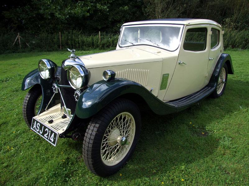 Lot 7-1933 Riley 9 Kestrel