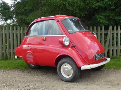 Lot 10-1961 BMW Isetta 300