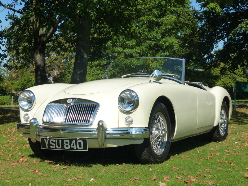 Lot 45-1958 MG A 1500 Roadster