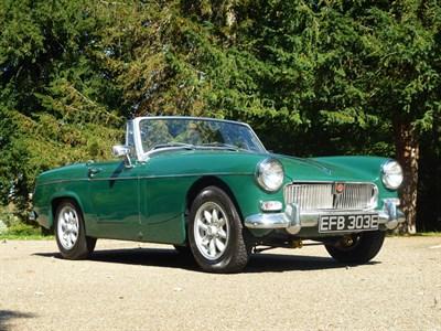 Lot 3-1967 MG Midget 1100