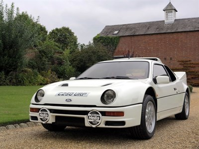 Lot 78-1986 Ford RS200