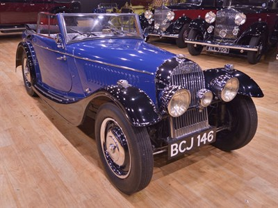 Lot 133-1938 Morgan 4-4 Drophead Coupe