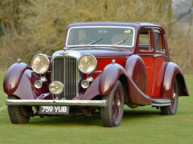 Lot 25-1937 Lagonda LG45 Pillarless Saloon