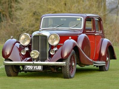 Lot 25 - 1937 Lagonda LG45 Pillarless Saloon