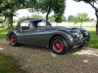 Lot 75-1952 Jaguar XK120 Fixed Head Coupe John May Speciale