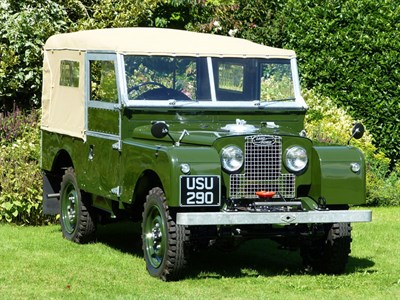 Lot 38-1955 Land Rover 86