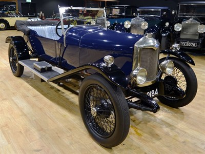Lot 115-1925 Riley 11/40 Tourer